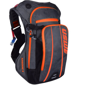 USWE Airborne 9 Sac à dos, grey/orange